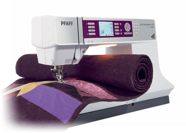 pfaff quilt expression 40 gebraucht pfaff. Black Bedroom Furniture Sets. Home Design Ideas