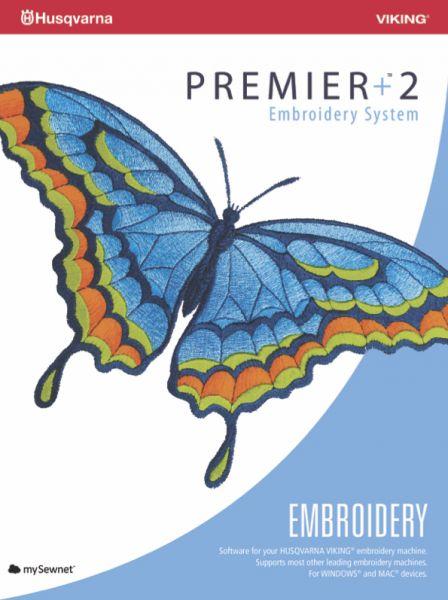 Husqvarna Viking Premier +2 Emroidery Software