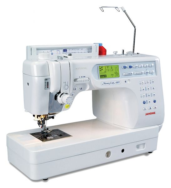Janome Memory Craft 6600 Ausstellungsmodell