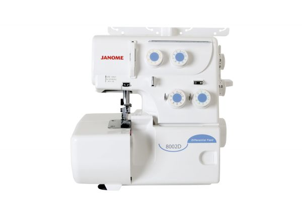 Janome 8002 D weiß m. Differentialtransport Ausstellungsmodell
