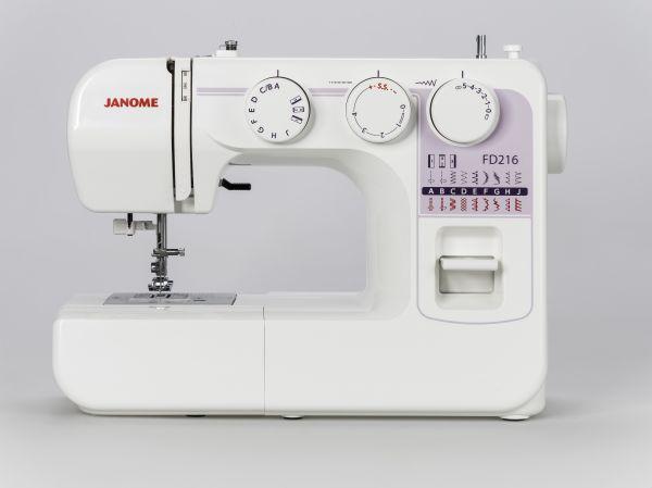 Janome FD 216 Ausstellungsmaschine