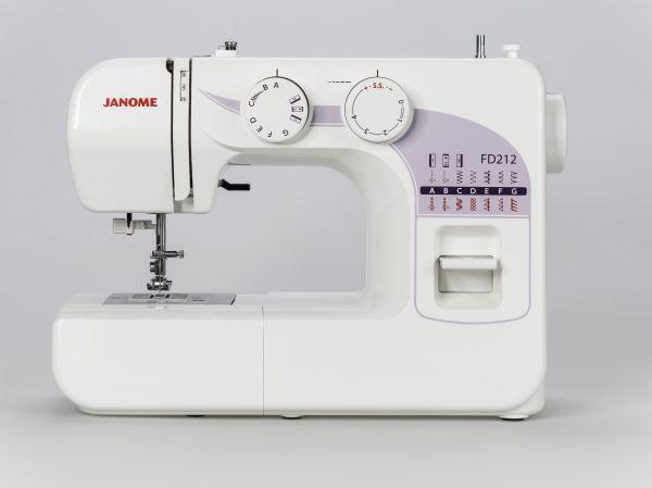 Janome FD 212 Ausstellungsmaschine