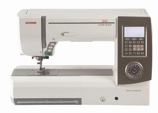 Janome Horizon MC 8900 QCP mit Bonuskit-Gebraucht