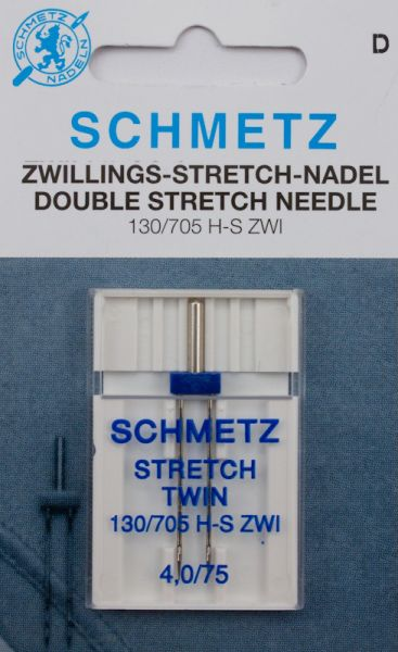 Schmetz Zwillings-Stretch-Nadel 1er Pack (4 mm/75)