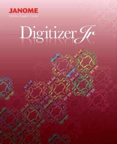 Janome Digitizer Junior V 4.5