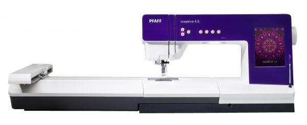 Pfaff Creative 4.5 mit Stickeinheit