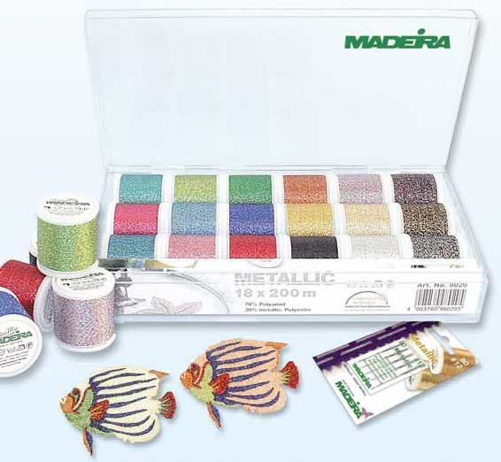 Madeira Stickbox Supertwist - 18 Rollen à 200 m