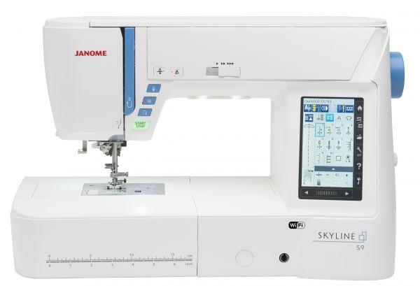 Janome Skyline S9 Näh- und Stickmaschine Ausstellungsmaschine