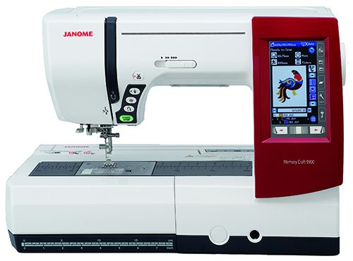 Janome Memory Craft 9900 mit Digitizer Software MBX V 4.5 Ausstellungsmaschine