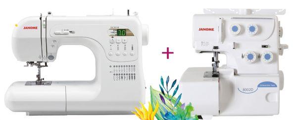 Janome Decor Computer 3018 + 8002 D