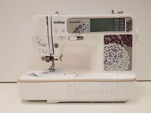 Brother Innov-is 955E Ausstellungsmaschine mit USB inkl. Stick mit 100 Stickmotive und CD mit 126 Mo