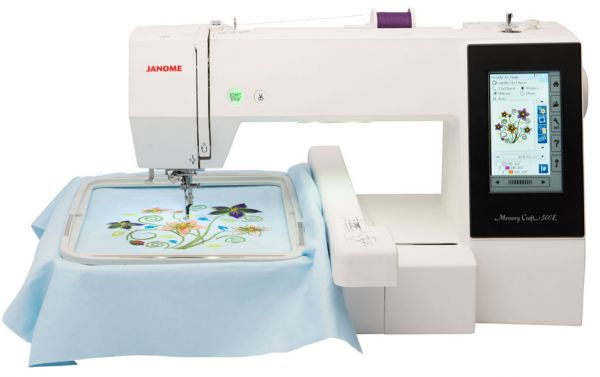 Janome Memory Craft 500E Ausstellungsmaschine