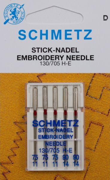 Schmetz Stick-Nadeln 5er Pack