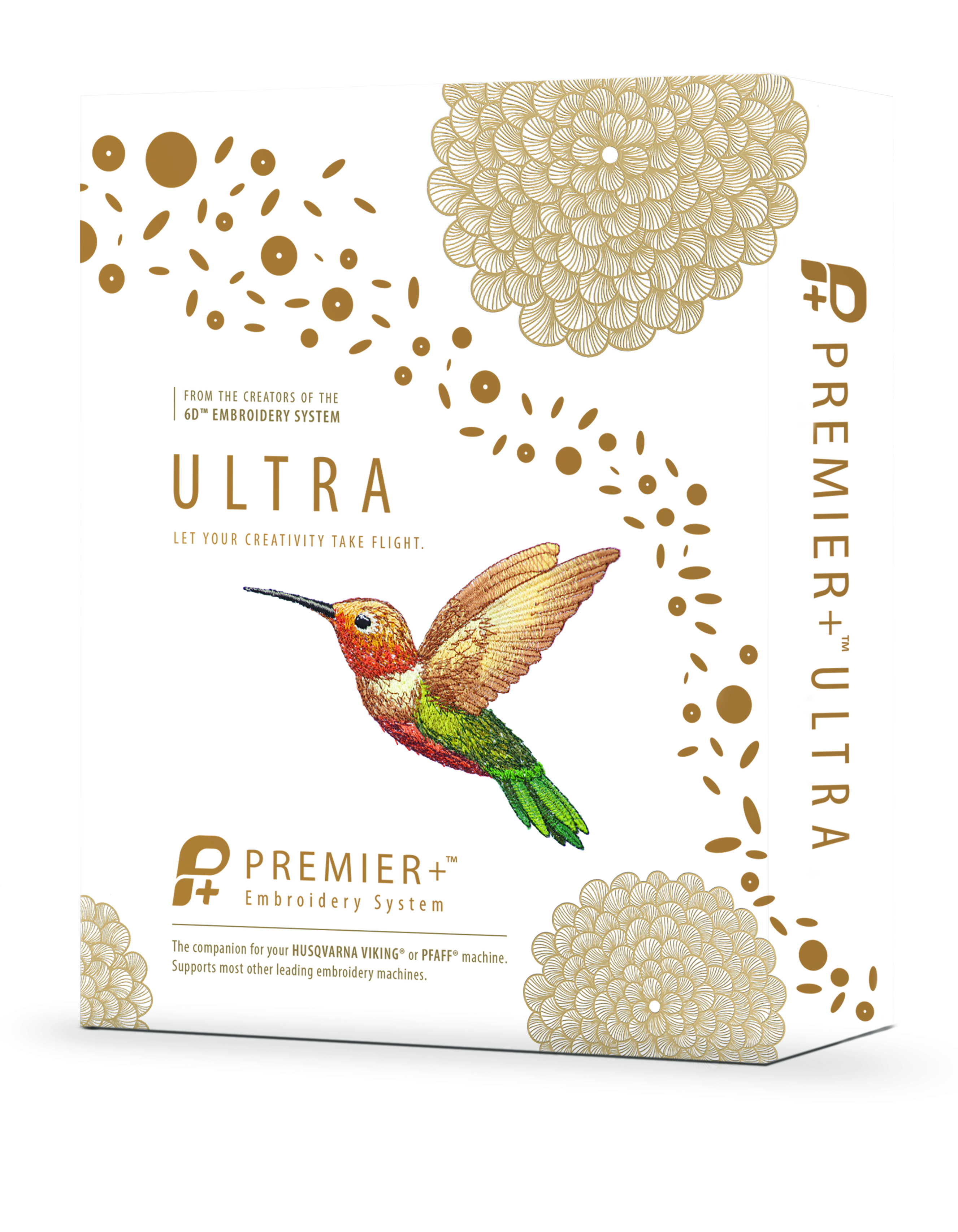 Premier Ultra Pfaff Sticksoftware Zubehör