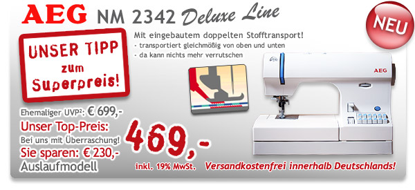 AEG NM 2342 Deluxe Line